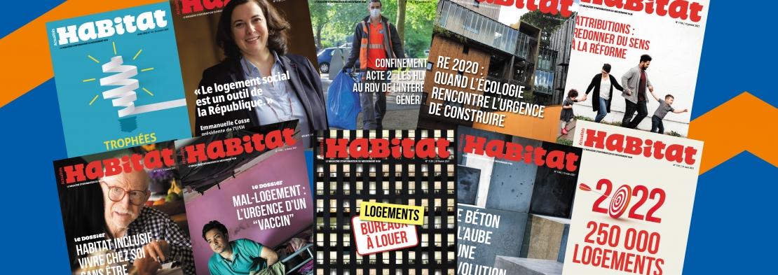 Actualités Habitat  - Le magazine d'information du Mouvement Hlm