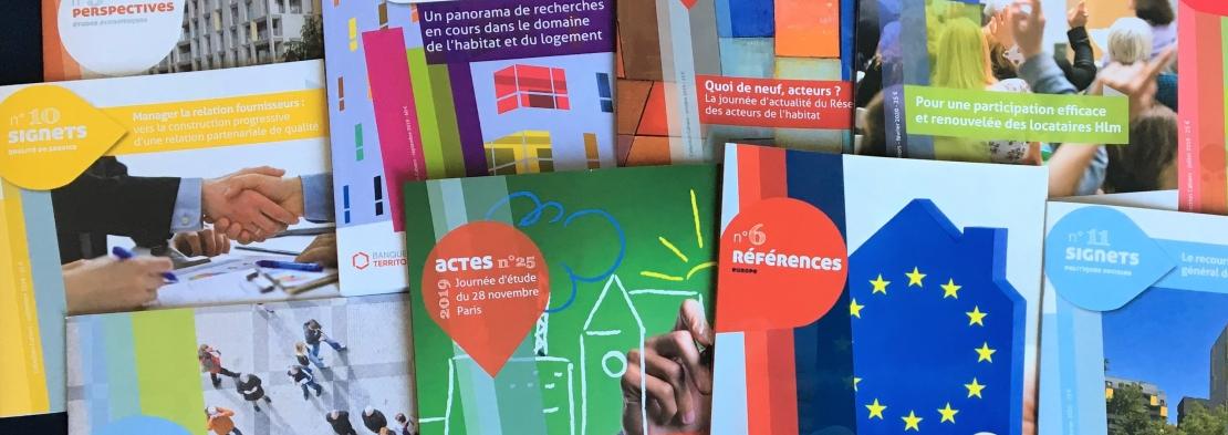 Collection des cahiers USH  - L'information et l'expertise Hlm